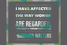 Inspiring Women / Advocating for Female Leadership