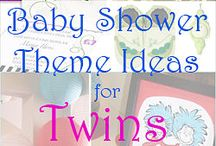 Twins Baby Shower Ideas / Inspiration for planning a twins baby shower