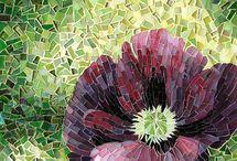 λουλούδια-ψηφιδωτό