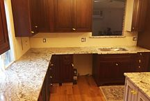 Galaxy White Granite Countertop Installation in Clifton, NJ