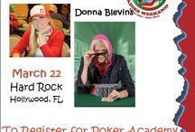"Poker / Big Girl Poker says, ""Get Your Head in the Game""... Donna Blevins Poker MindSet Coach"