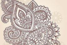 mandala - henna