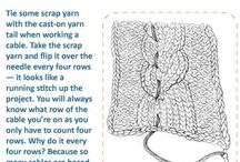 Knitting and sewing! / by Melivier M. Besnoin