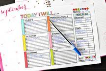 Keep tidy / Paperwork