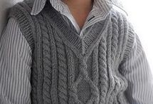 жилеты вязание