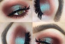 Eye makeup looks