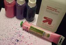 DIY INKT van acrylverf