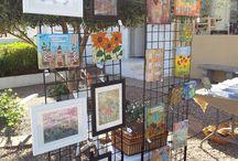 Art displays