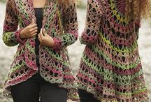 ponchos bufandas y gorros