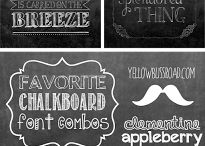 Chalkboards / by Carly DeAugustines Saal