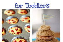 Healthy food for toddlers  / by Brooke Cavitt Howald