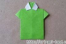 折り紙 洋服