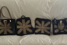 """""""AGTS"""" Logo Bling Bling Bags / """"AGTS"""" Logo Bags with BLING."""