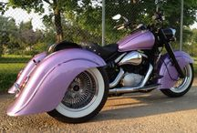 Kawasaki Drifter vn800 Trike / Kawasaki VN800 Drifter customized to a trike. Rear axle from a Volvo 240 converted to chaindrive, rear fenders are homemade in fibreglass, exhaustsystem twin fishtails, rear lights is Lincoln zephyr mini replicas with led.