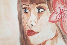 mes 1eres peintures