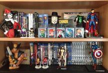 Personajes DC y Marvel Colecciones