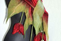 Textílie-šatky,šály