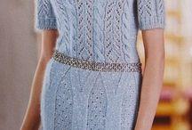 Spring dresses, tops, pullis