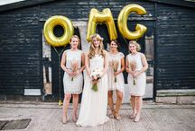 Gold Foil Balloon Party Ideas