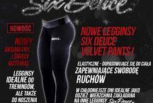 Velvet Pants / Legginsy Velvet - lśniące, aksamitne. Wyjątkowe