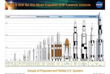space agency rocket and spacecraft