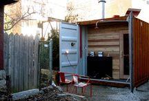 Sauna kontainer