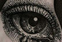 Blackwork tatto