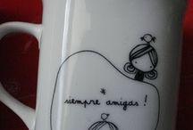 decoracion tazas