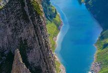 川.湖畔.滝. Lakeside  / River /waterfall