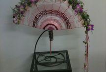 Inspirations: floral fans & purses