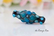Lampwork beads by the Design Den