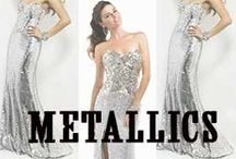 Metallics / Spring 2014 is all about Metallics / by MissesDressy