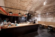 Bars/coffee shops / Interior designs ideas for bars/coffee shops.