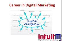 Career in Digital Marketing / Today, Digital Marketing and Marketing are becoming synonymous. Digital marketing is making a vigorous effect on the world of marketing and advertising with fascinating features. Digital marketing is a booming option for career today as the world is getting more and more digitized in every aspect.Further Details Visit http://www.intuitm.com/