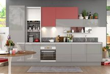 Excellent glossy kitchen style designed by OPPEIN
