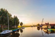 Friesland vanaf het water