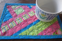Table runners & Mug Rugs / Quilted gifts / by Judy Ducrou