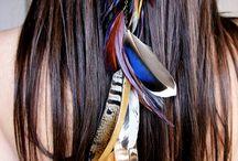 Hippie Hair Feathers