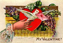 Vintage Victorian Valentine inspiration