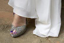 Wedding shoes. Photos: Duccio Argentini