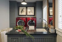 Laundry Rooms / Laundry Room Design and Laundry Tips