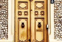 Doors, knockers and handles