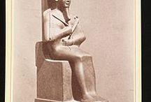 Osiris / Dieu funéraire et juge des âmes dans l'Egypte antique.