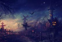 Halloween lands