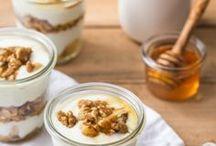 Joghurt mit Walnüssen