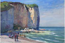 Art seascape
