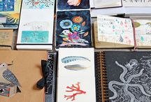 Sketchbooks that inspire me