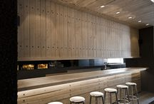 Bar, cafe and restaurant design
