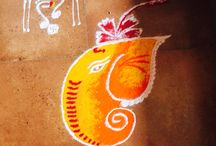 Ganesh chathruthi kolam