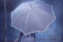 "☔☔☔"" LOVE THE GENTLE RAIN"" / by ~MARIE-LOU~"